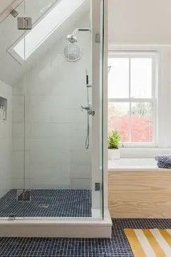 Unique attic bathroom design ideas for your private haven 13