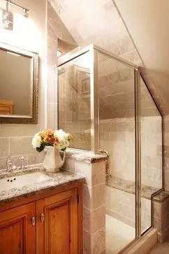 Unique attic bathroom design ideas for your private haven 50