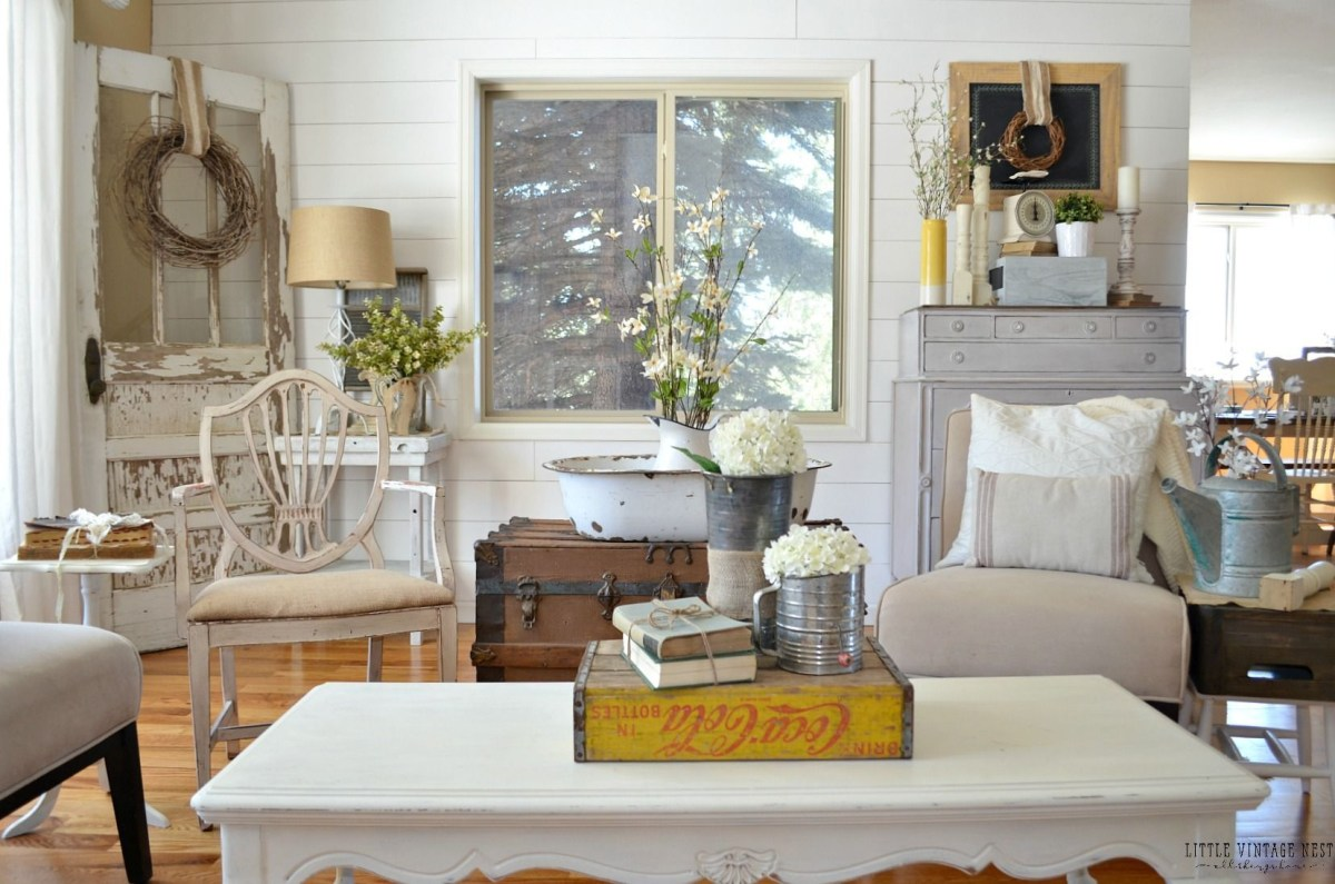 Vintage decor ideas for your home design 26