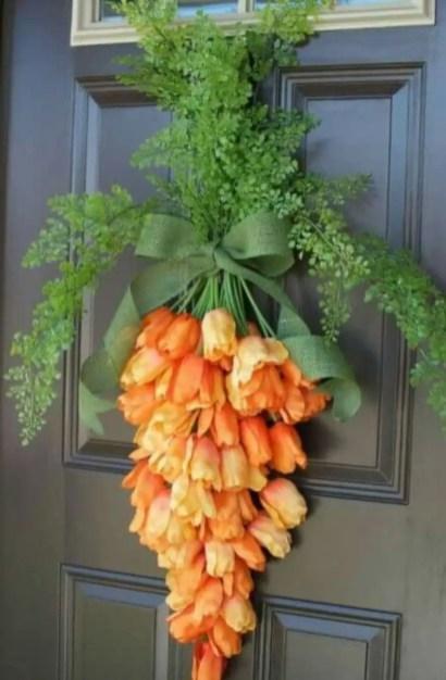 Beautiful decor ideas to hang on your door that aren't wreaths 01