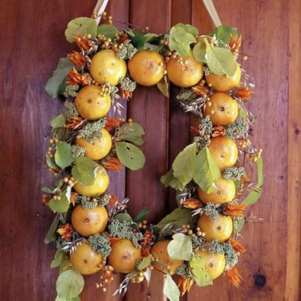 Beautiful decor ideas to hang on your door that aren't wreaths 12