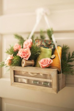 Beautiful decor ideas to hang on your door that aren't wreaths 21