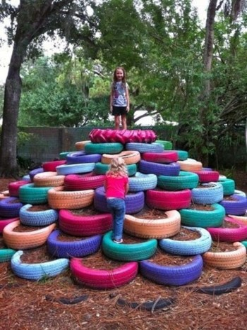 Best creativity backyard projects to surprise your kids 25