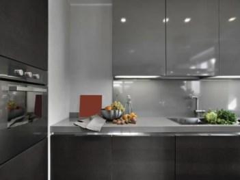Stylist and elegant black and white kitchen ideas 04