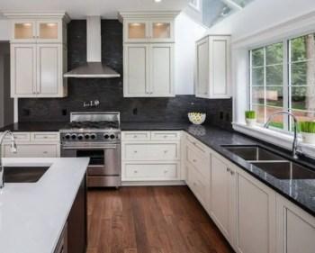 Stylist and elegant black and white kitchen ideas 09