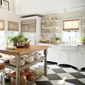 Stylist and elegant black and white kitchen ideas 23