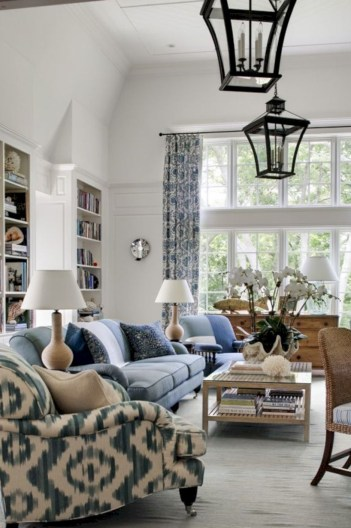 Adorable and cozy neutral living room design ideas 05