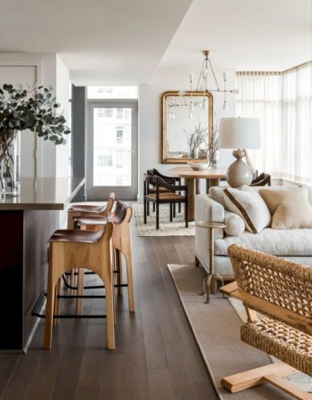 Adorable and cozy neutral living room design ideas 07