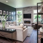 Adorable and cozy neutral living room design ideas 27