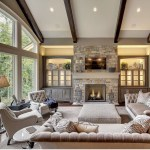 Adorable and cozy neutral living room design ideas 46