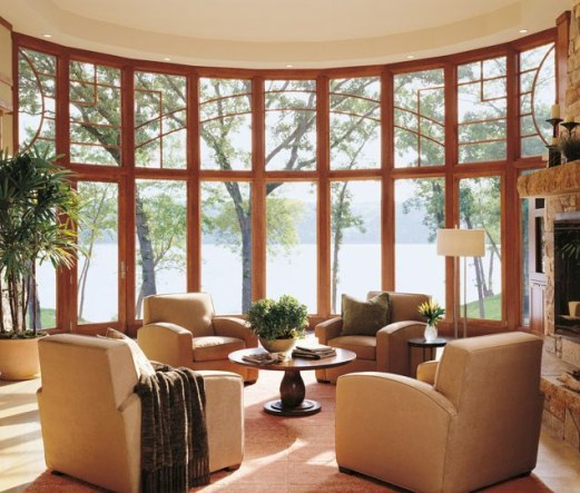 Bay window ideas that blend well with modern interior design 37