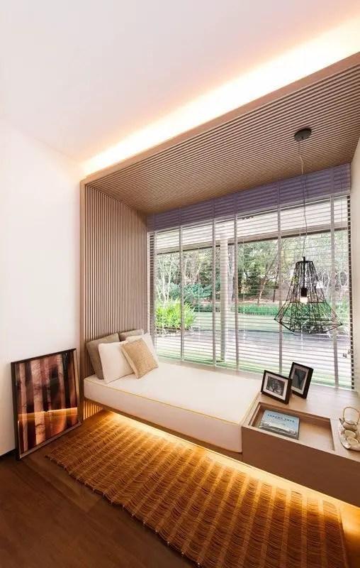 Bay window ideas that blend well with modern interior design 38