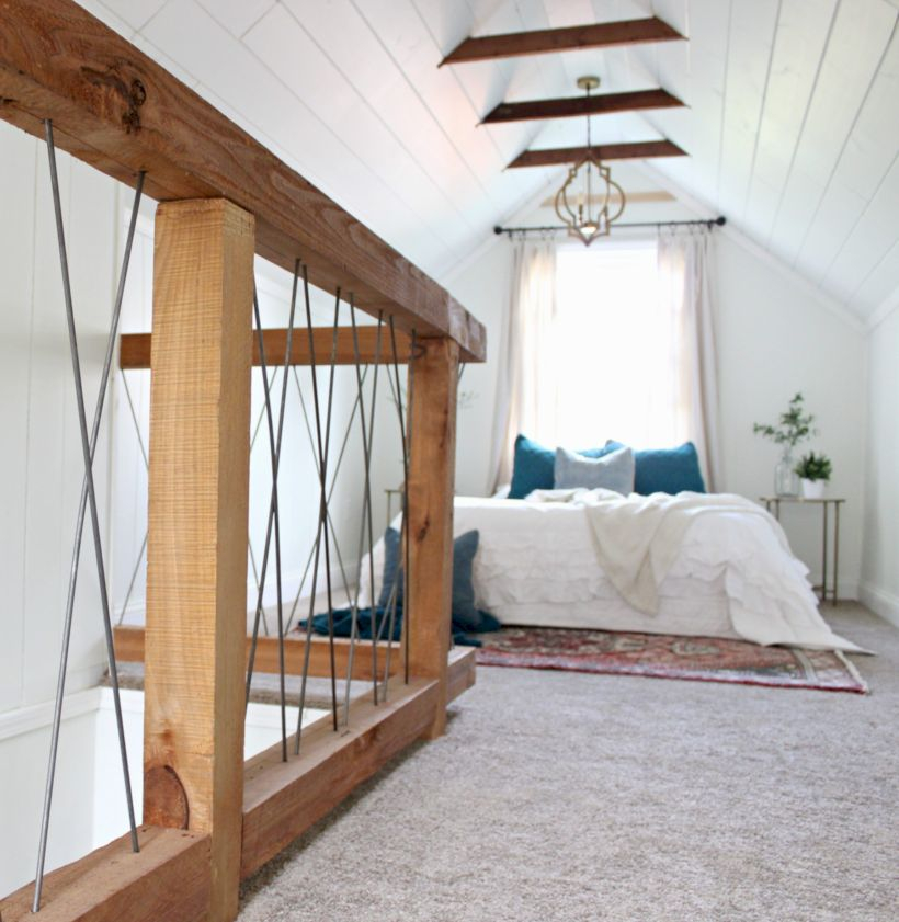 Best attic makeover ideas to inspire you 14