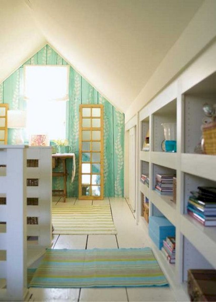 Best attic makeover ideas to inspire you 26