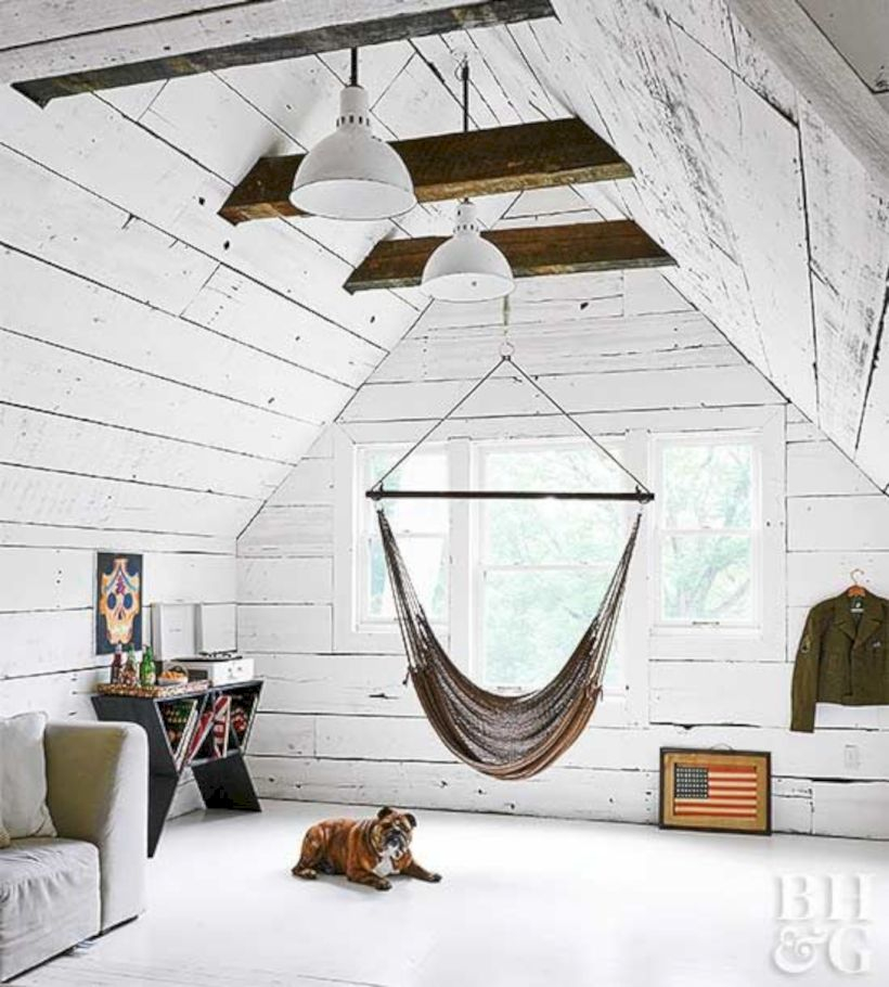 Best attic makeover ideas to inspire you 44