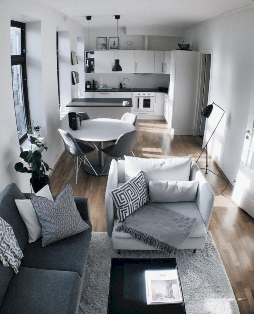 Brilliant small apartment ideas for space saving 01