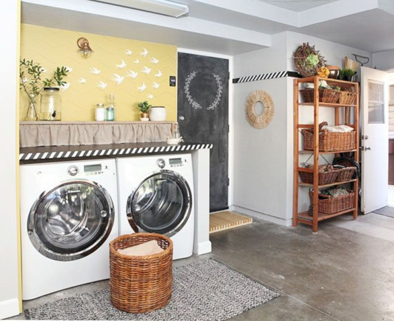 Laundry room storage shelves ideas to consider 03