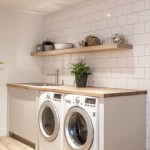 Laundry room storage shelves ideas to consider 09