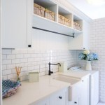 Laundry room storage shelves ideas to consider 36
