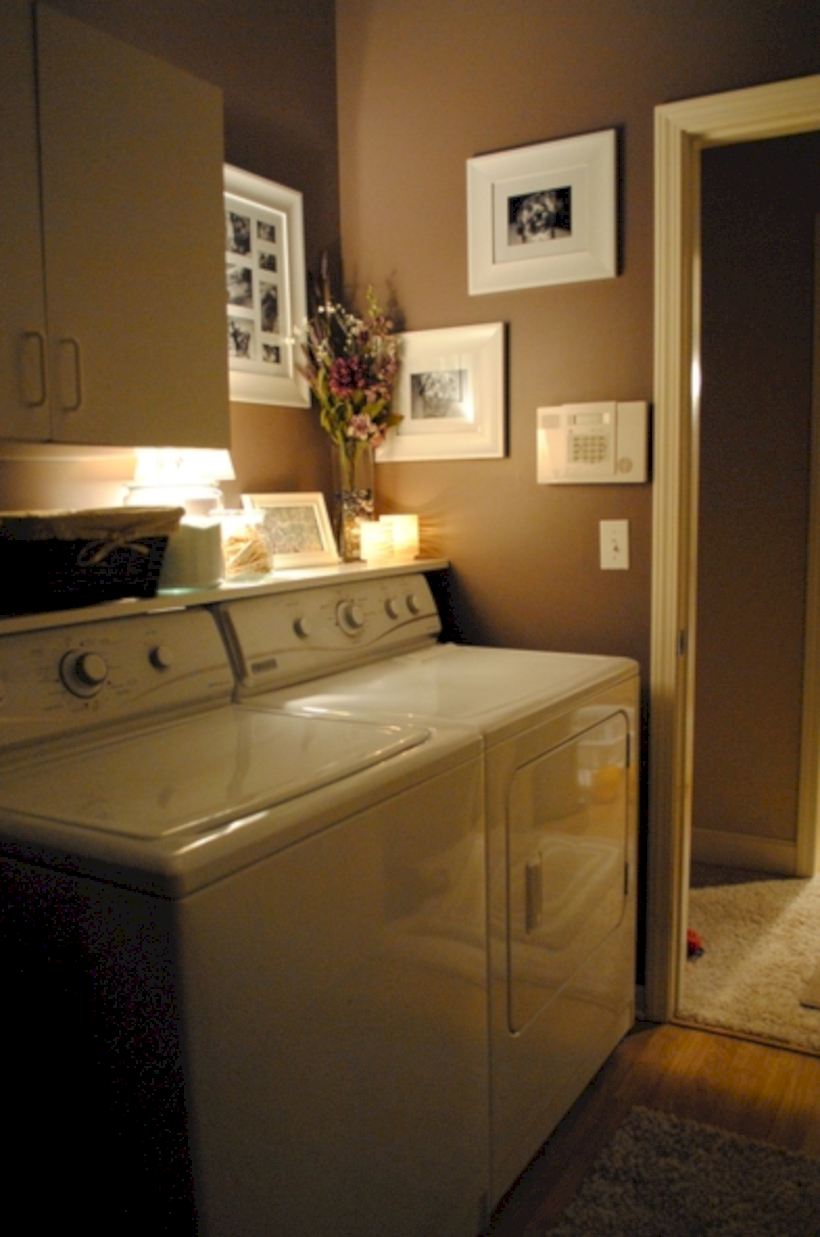 Laundry room storage shelves ideas to consider 40