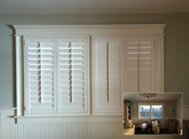 Simple and elegant plantation shutters that perfect for every style 34