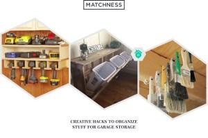 34 Creative Hacks To Organize Your Stuff For Garage Storage