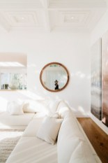 Adorable round mirror designs to brighten up your small space 19