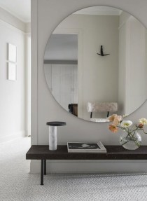 Adorable round mirror designs to brighten up your small space 29