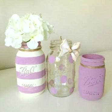 Cheerful ways to use mason jars this spring 35