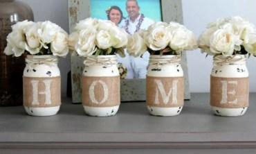 Cheerful ways to use mason jars this spring 45