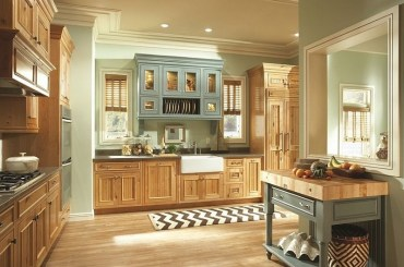 Modern herringbone pattern to give unique elements to your kitchen 12