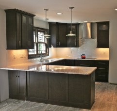 Modern herringbone pattern to give unique elements to your kitchen 27