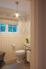 Stunning herringbone patterns for your bathroom wall 34