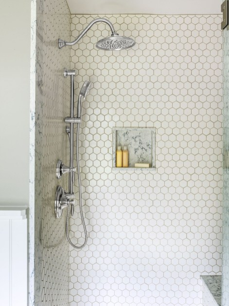 Unique honeycomb tile to give your bathroom a new look 03