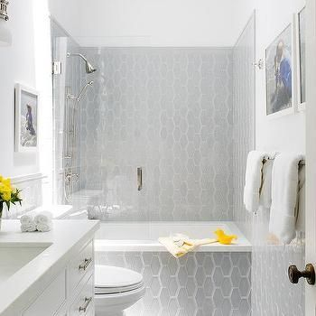 Unique honeycomb tile to give your bathroom a new look 41