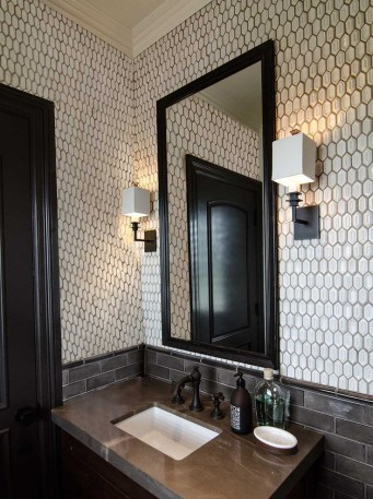 Unique honeycomb tile to give your bathroom a new look 42