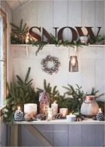 Adorable farmhouse christmas decor ideas 08