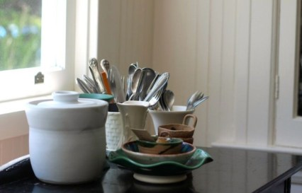 Awesome clutter-free ideas to organize your countertop 24