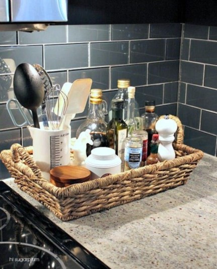 Awesome clutter-free ideas to organize your countertop 27
