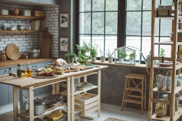 Awesome clutter-free ideas to organize your countertop 40
