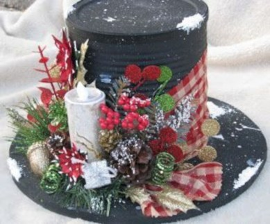 Beautiful christmas centerpiece ideas you should try 16
