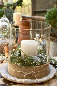Beautiful christmas centerpiece ideas you should try 23