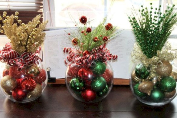Beautiful christmas centerpiece ideas you should try 35