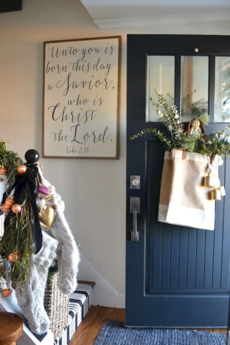 Beautiful christmas decor for small space 40