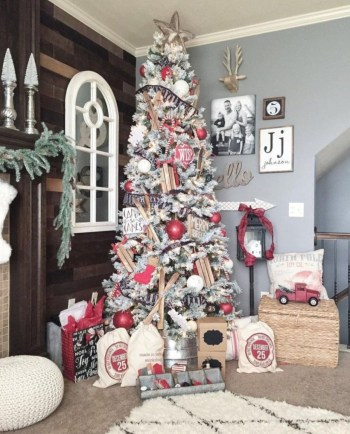 Beautiful christmas tree decoration ideas to see 09