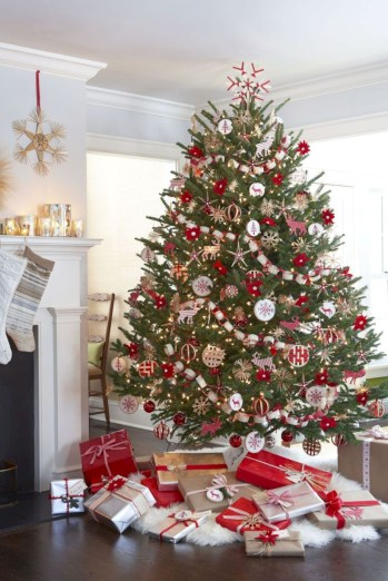 Beautiful christmas tree decoration ideas to see 17