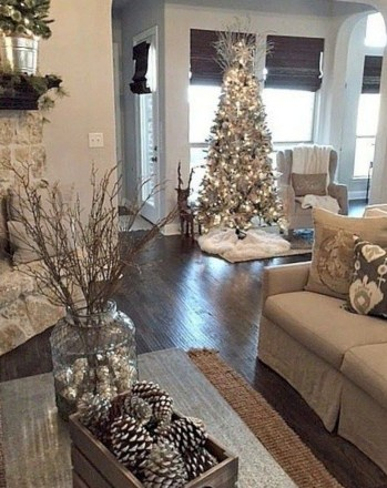 Beautiful christmas tree decoration ideas to see 36