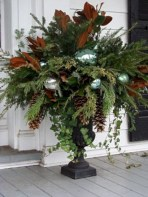 Colorful winter planters for your outdoor decorations 16