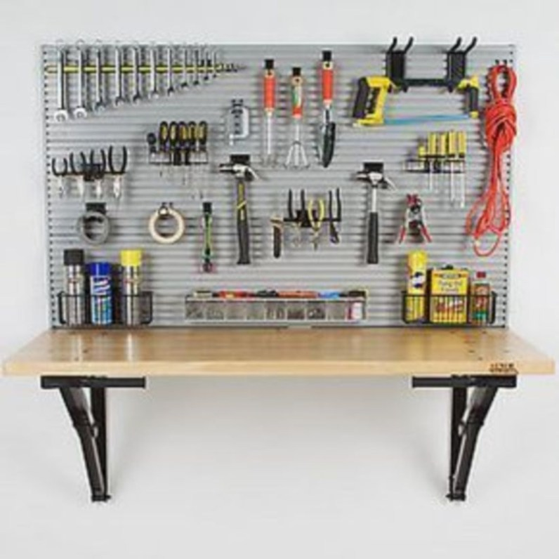 Creative hacks to organize your stuff for garage storage 01