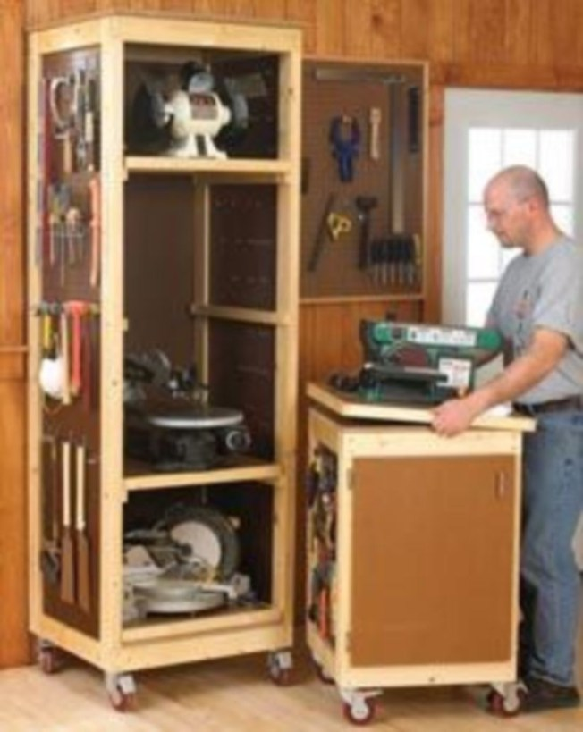 Creative hacks to organize your stuff for garage storage 24